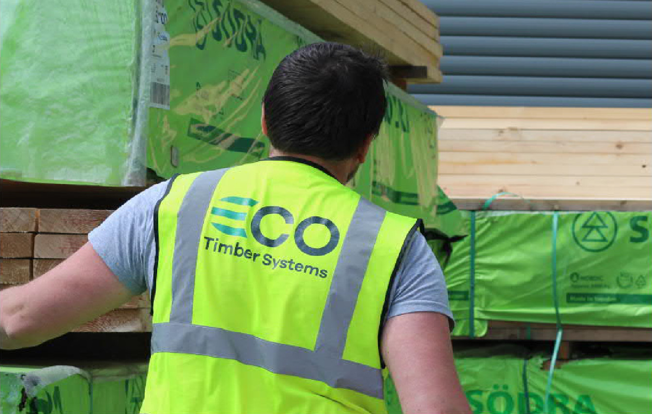 ECO Timber Systems Cork Roof Trusses Timber Frame Build Smart